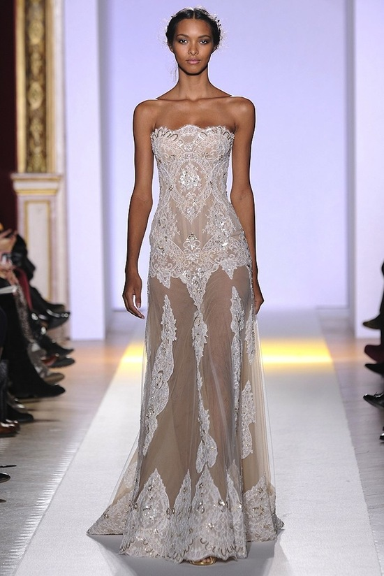 2013 couture wedding dress inspiration from Zuhair Murad 7