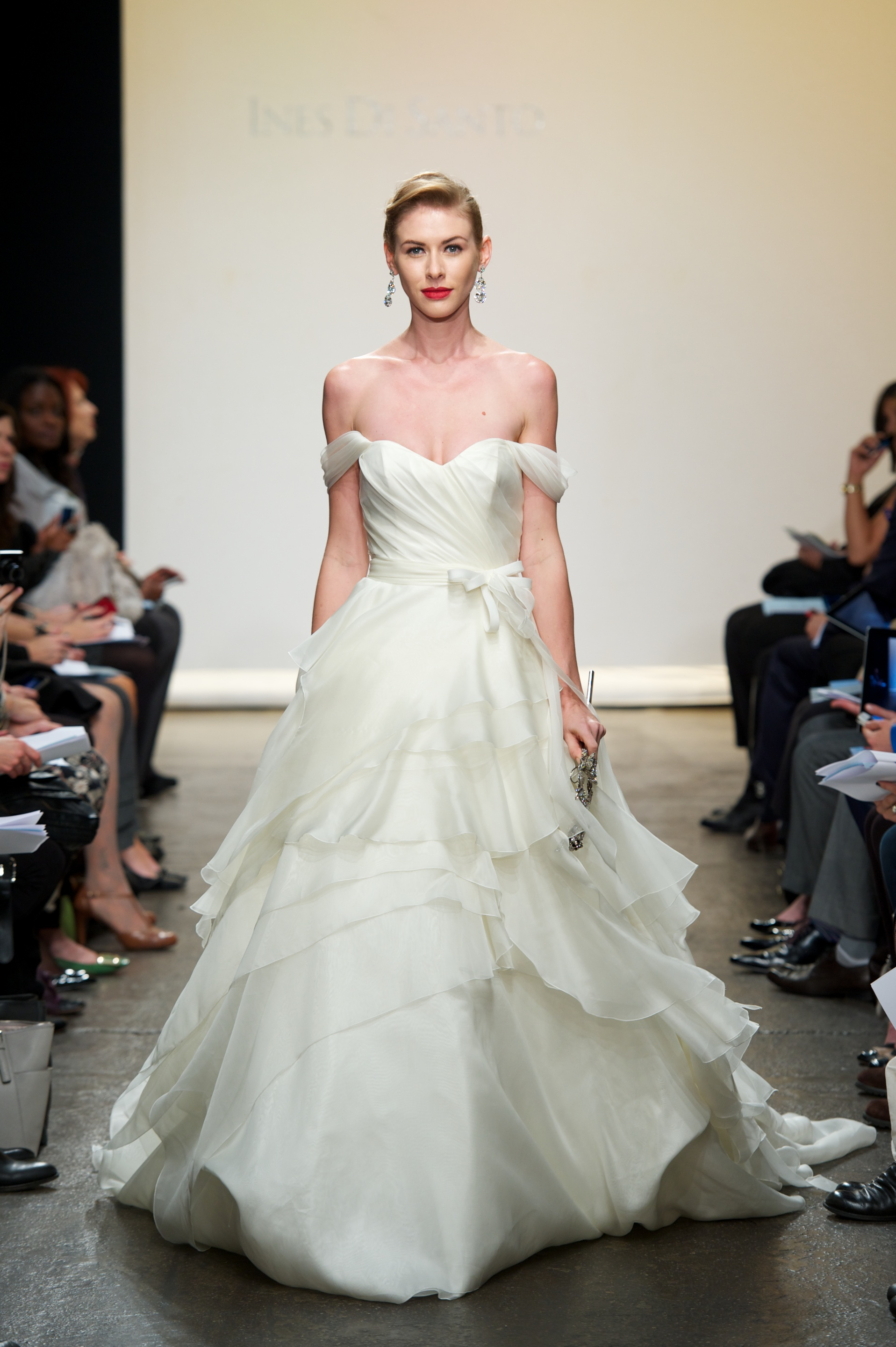 2013 wedding dress by ines di santo istria for Ines di santo wedding dress