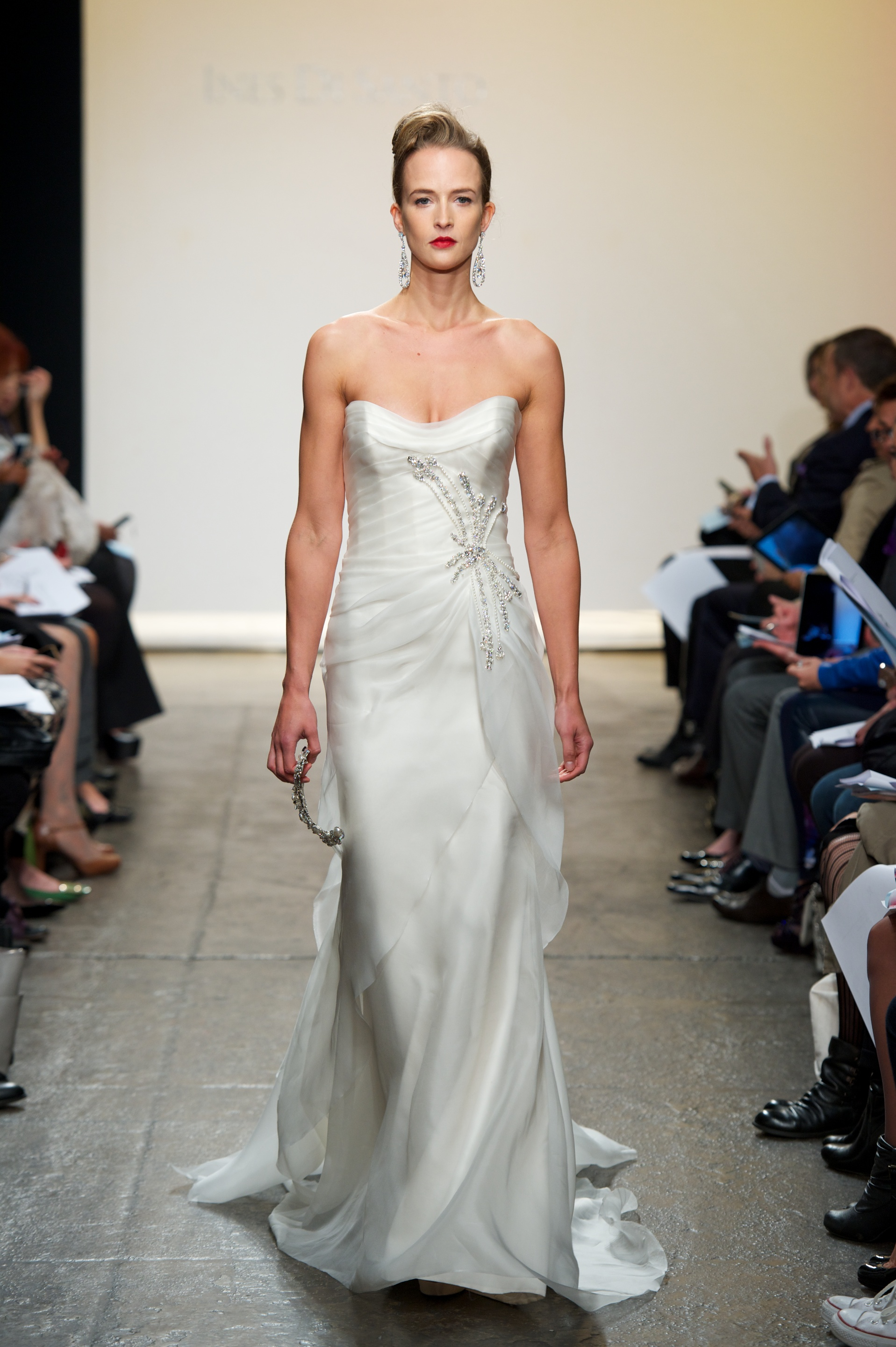2013 wedding dress by ines di santo dama for Ines di santo wedding dress