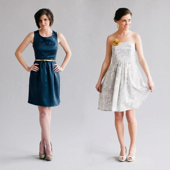 Simple Classic Bridesmaid Dresses by Whitney Deal 1