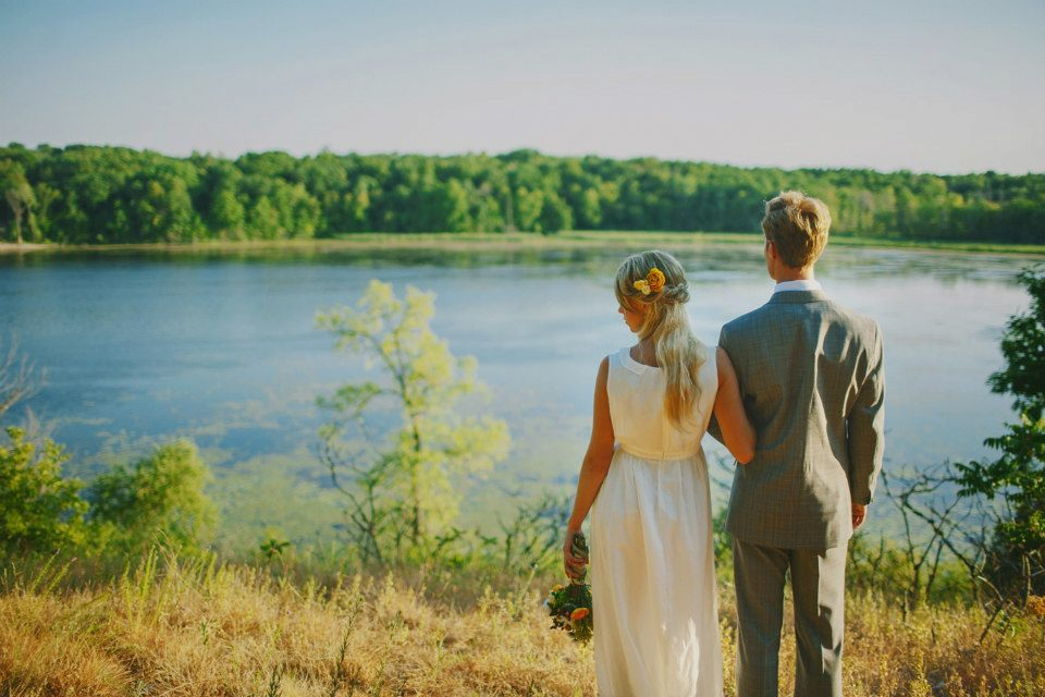 Outdoor-lakeside-wedding-bride-and-groom-portrait.full