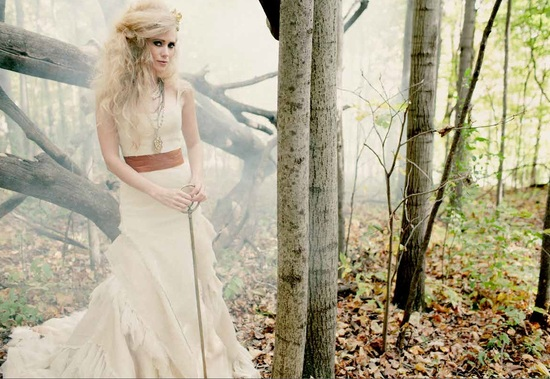 Fall 2013 Wedding Dress by Tara LaTour 4 Tay