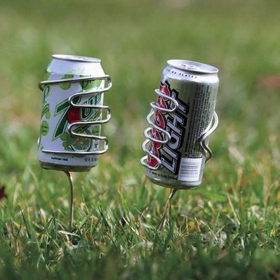 photo of Lawn drink holders via The Fancy, $21