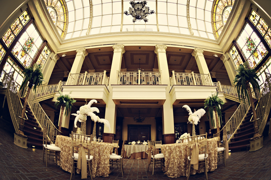 Exquisite Wedding Venue for Great Gatsby Themed Reception