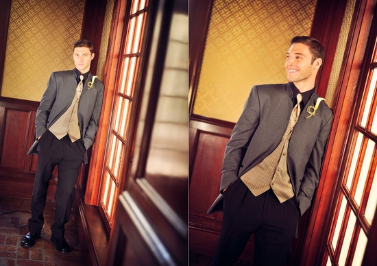 Dapper Groom at Great Gatsby Vintage Wedding