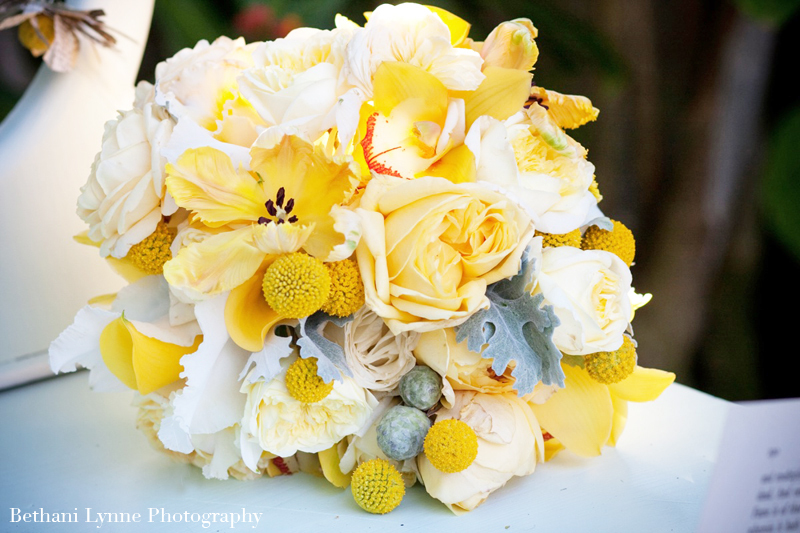 Gorgeous Bridal Bouquet with Billy Balls