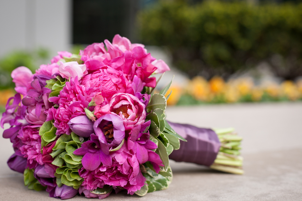 Bright-fuschia-bridal-bouquet-of-orchids-peonies-tulips.full