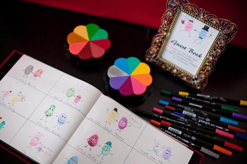 Cool Alternative Wedding Gifts : artsy-wedding-ideas-creative-guest-books.original.jpg?1379259306