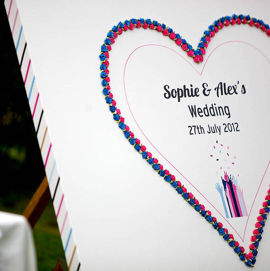 photo of Five Inspired Wedding Guest Book Alternatives