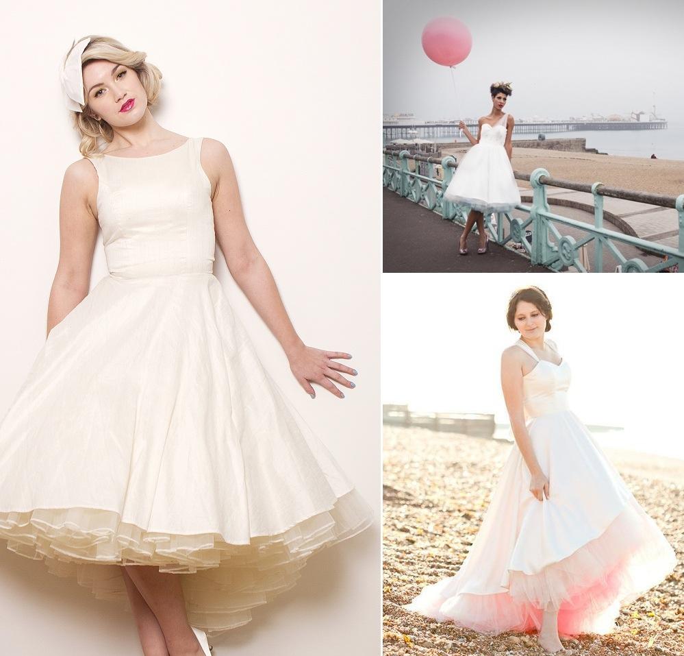 1950 S Style Wedding Hair: 1950s Style Bride Vintage Wedding Themes 2