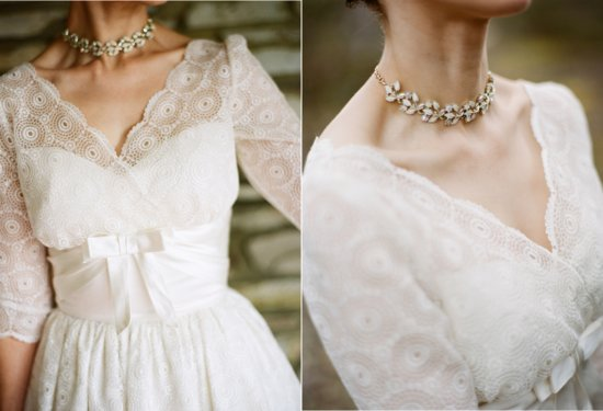 vintage 1950s wedding accessories