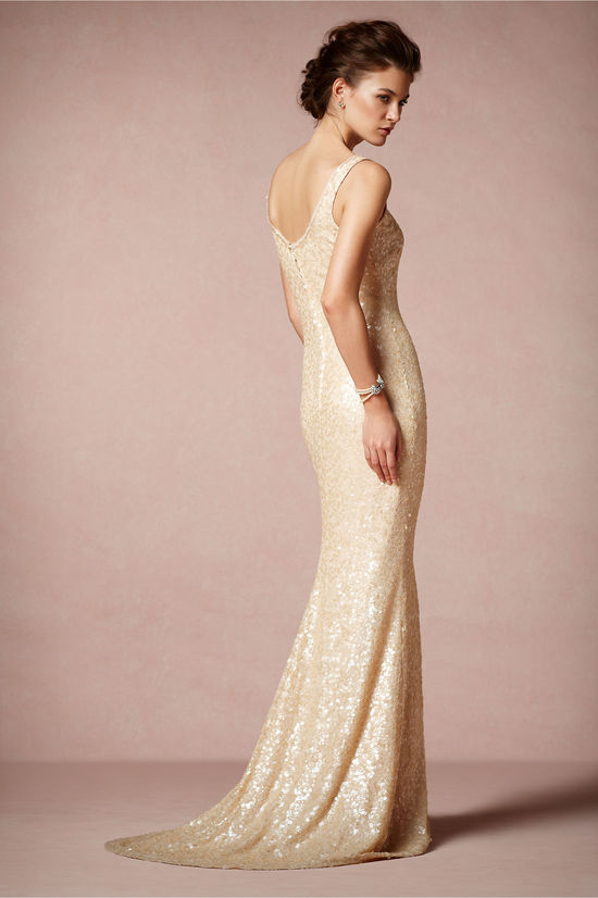 photo of Cyprium gown by Badgley Mischka for BHLDN