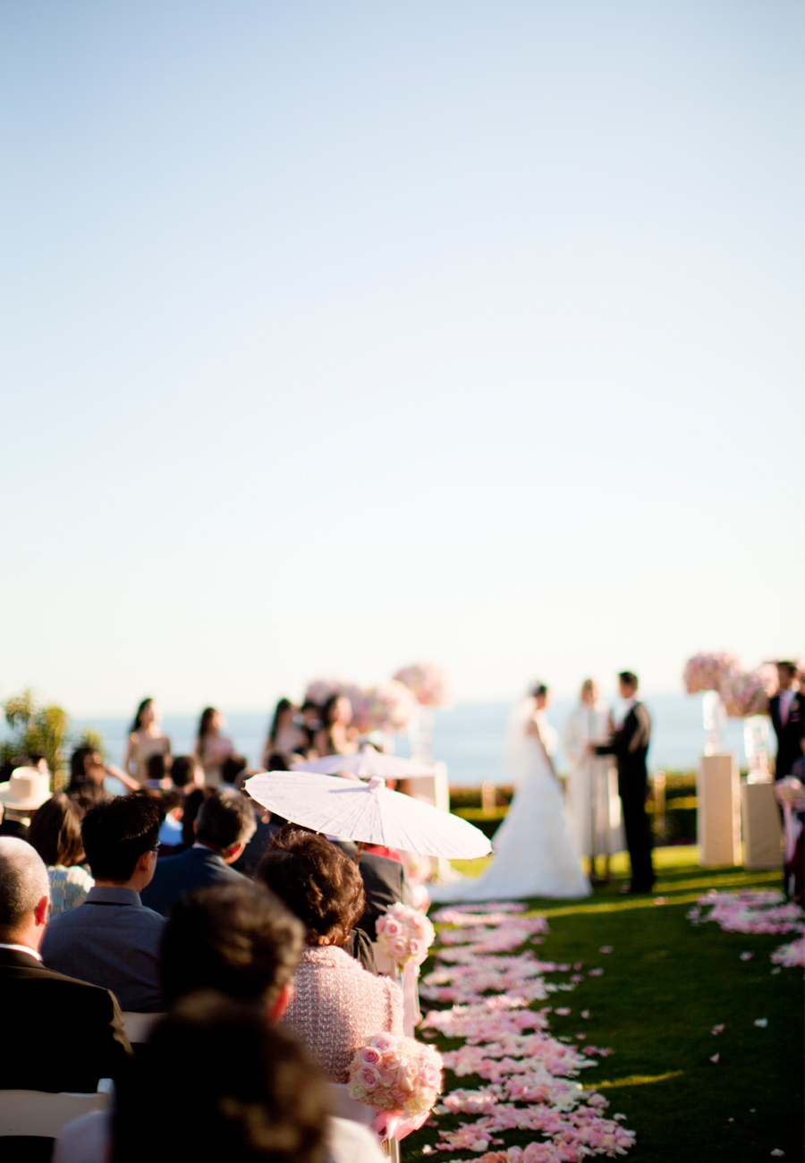 Romantic Outdoor Wedding Ceremony at Montage Resort