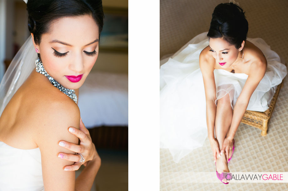 Gorgeous Bridal Makeup Photographed by Callaway Gable