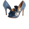 Blue-wedding-shoes-for-under-200-slate-satin-with-floral-accent.square