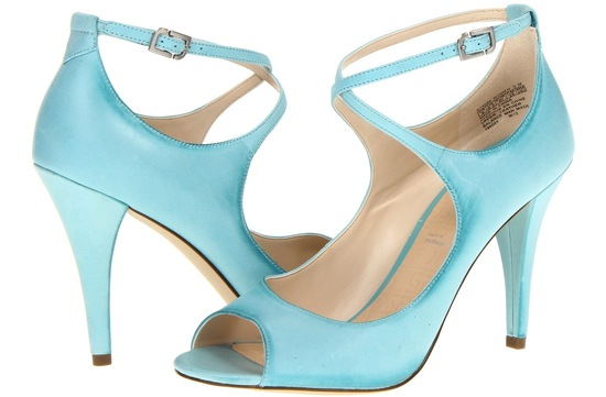 Blue Wedding Shoes for Under 200 Pastel Aqua Satin