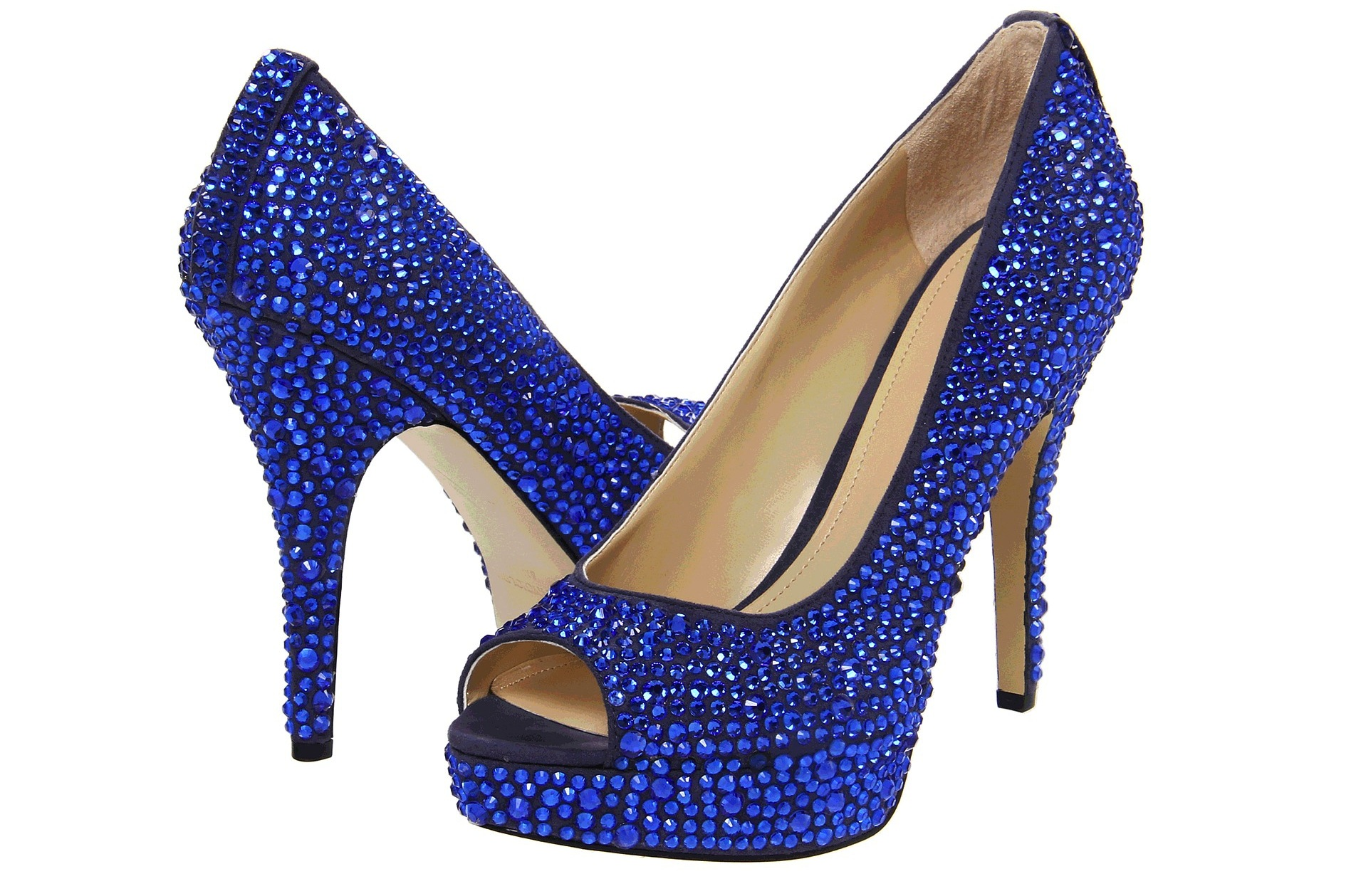 Blue Wedding Shoes For Under 200 Sapphire Studded