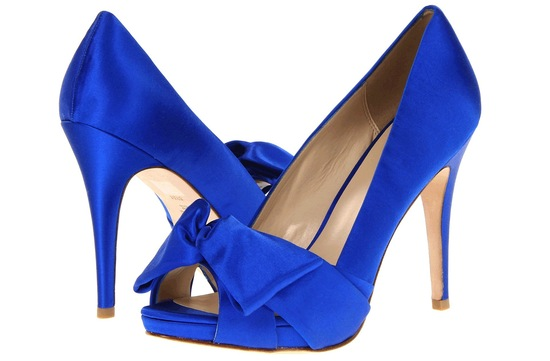 Blue Wedding Shoes Pella Moda
