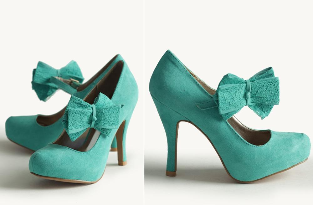 Aqua Blue Suede Wedding Shoes
