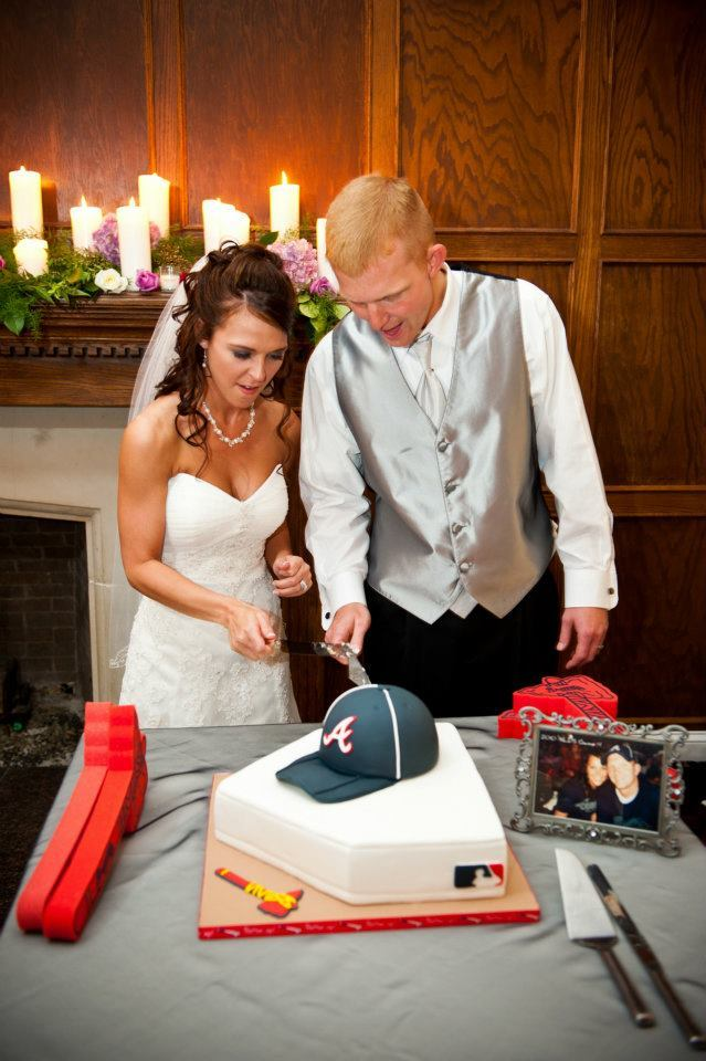 Stapp Wedding grooms cake