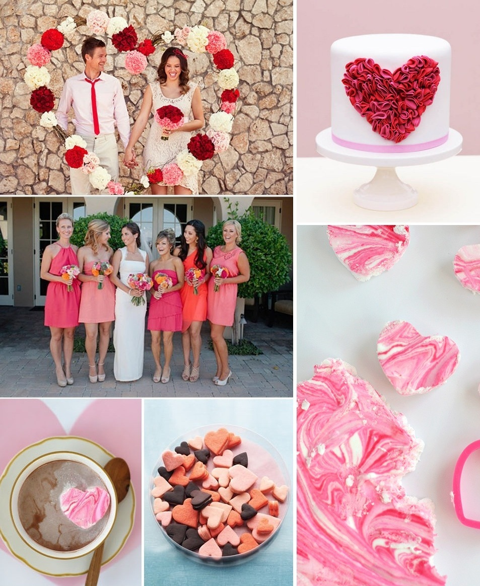Valentines-day-wedding-ideas-reception-cake-and-mix-and-match-bridesmaids-2.full