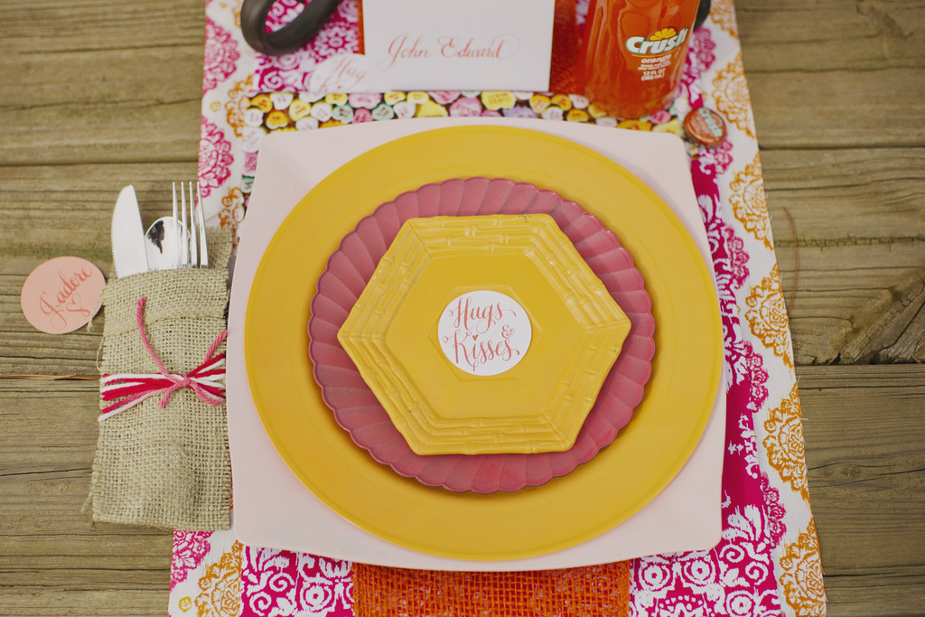 Valentines-day-inspired-wedding-reception-table-bright-pops.full