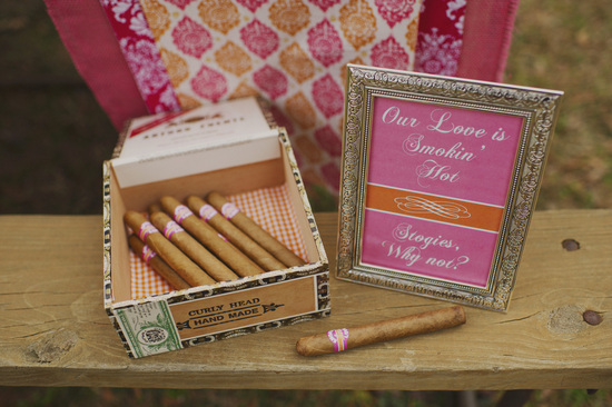 Wedding Reception Entertainment Cigars