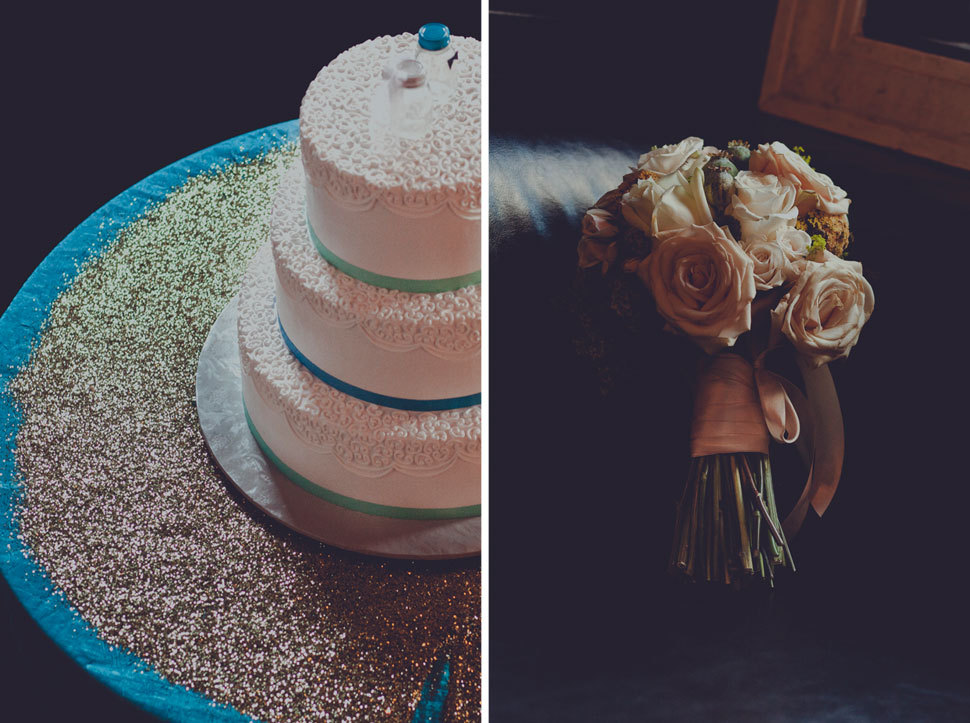 Cake and Brides detail