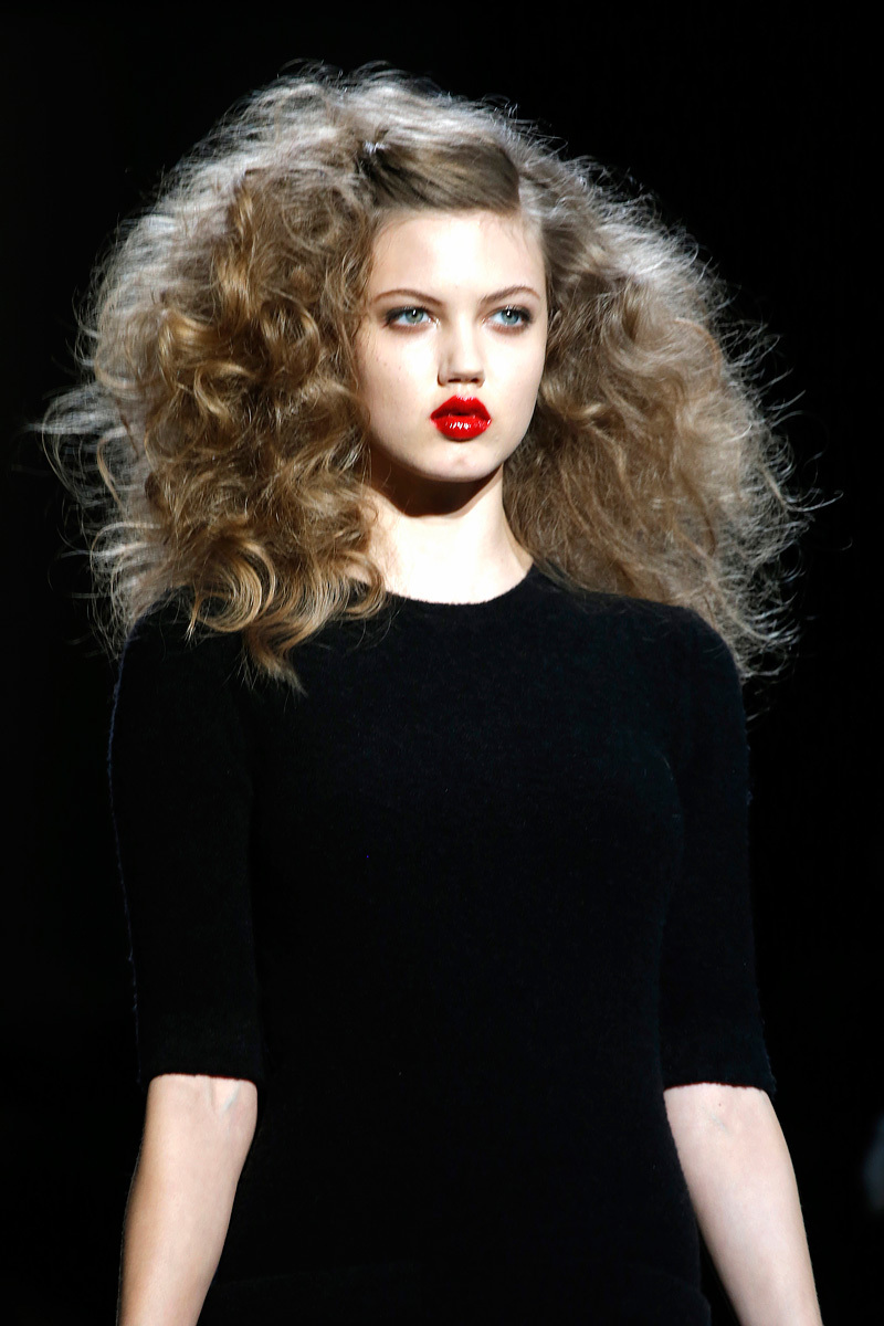 Wedding-hair-inspiration-from-fashion-week-red-glossy-lips-big-hair.full