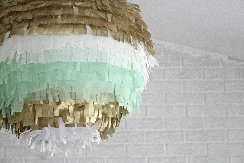fringe paper lantern wedding decor diy
