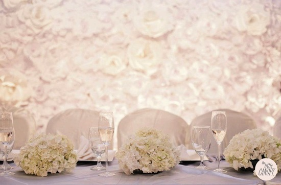 Endless Amazing Paper Wedding Flower Backdrop