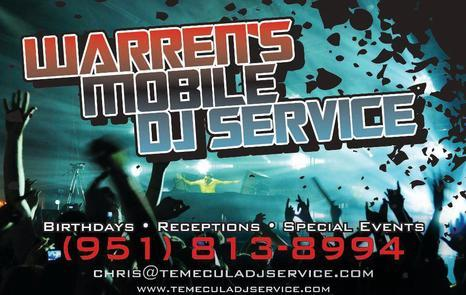 Warrens Mobile DJ Service