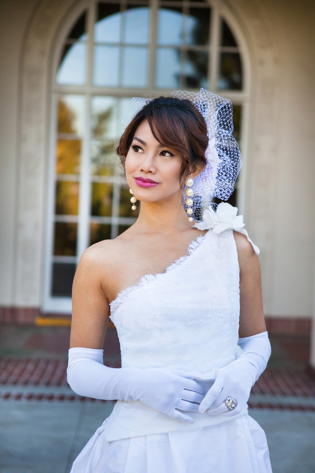 One-shoulder-lace-wedding-dress-in-white.full