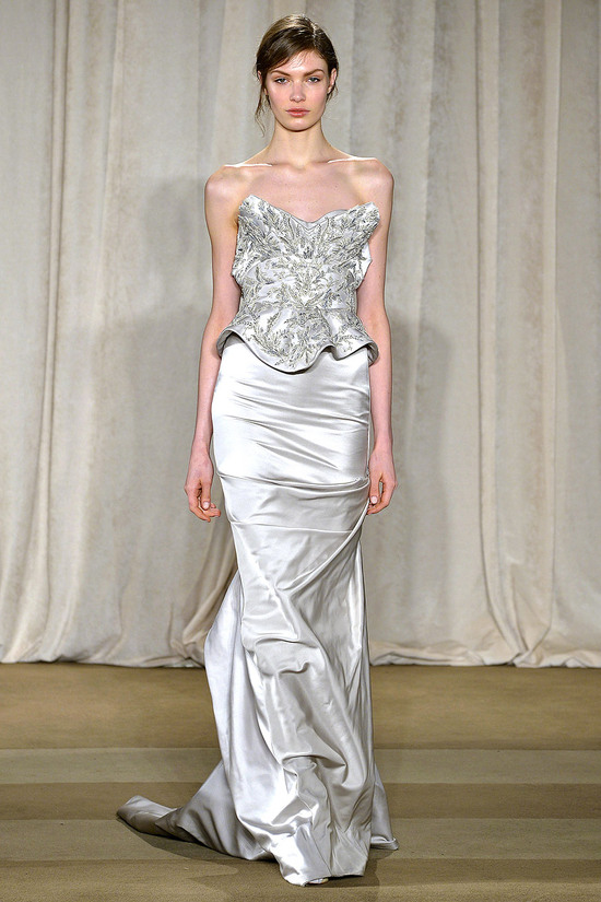 Marchesa Fall2013 RTW wedding dress inspiration 1