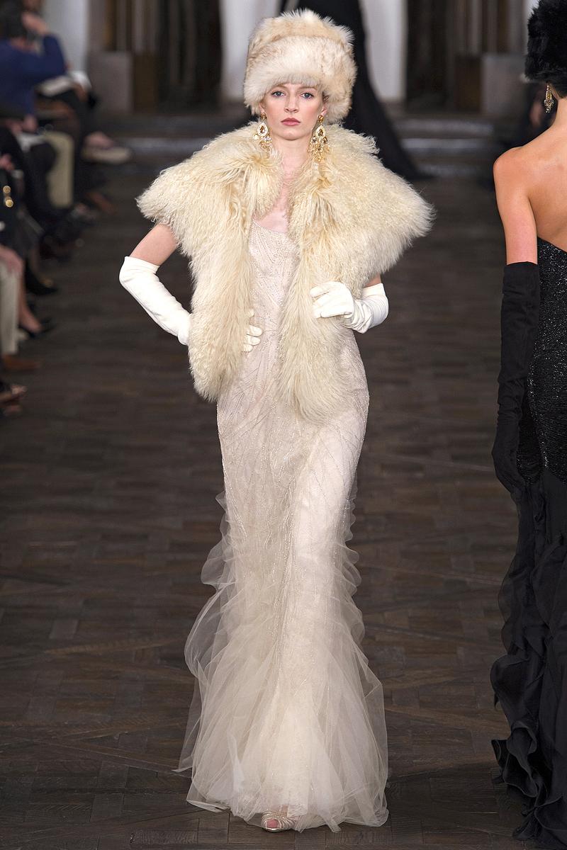Cream Wedding Dress Vintage Inspired by Ralph Lauren