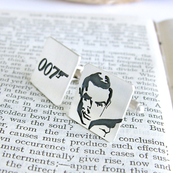 James Bond Cuff Links for Movie Loving Grooms