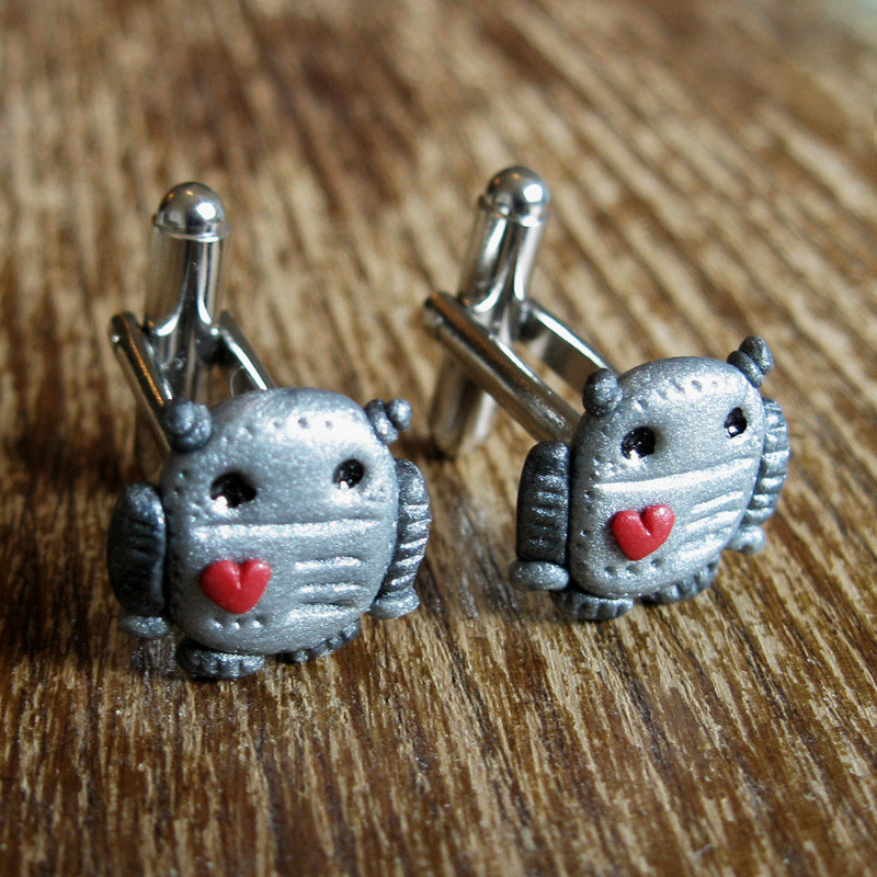 Robots-in-love-groom-cuff-links.full