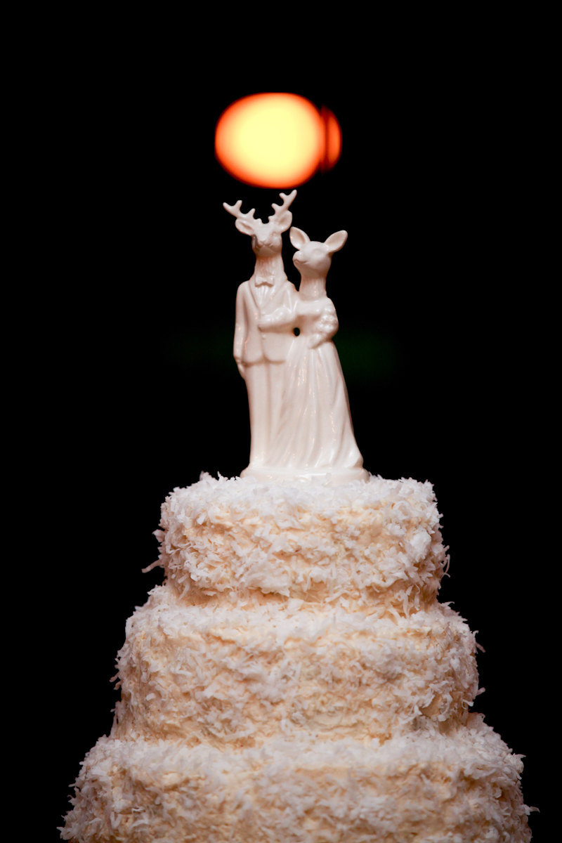 Whimsical Wedding Ideas Unique Cake Toppers 1
