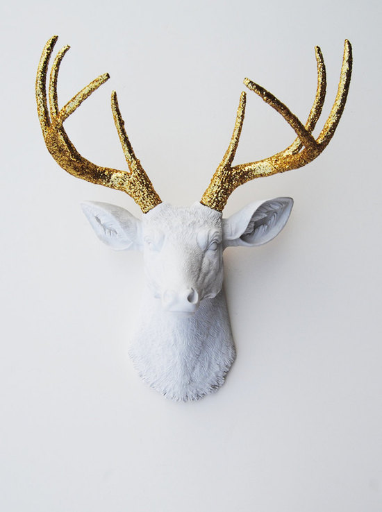 photo of White Faux Taxidermy
