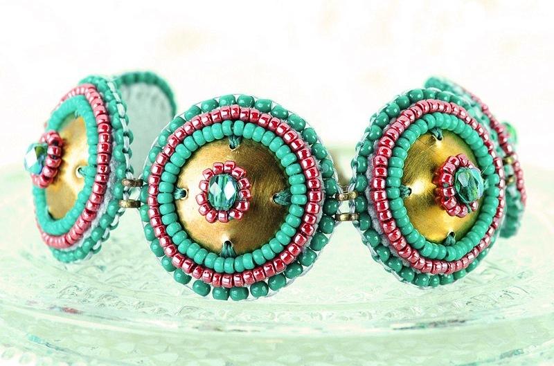 Turquoise-bridal-bracelet-tribal.full
