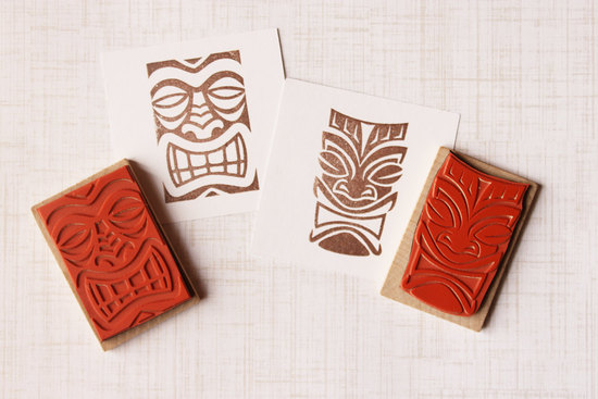 Wedding DIY Ideas Tribal Stamps