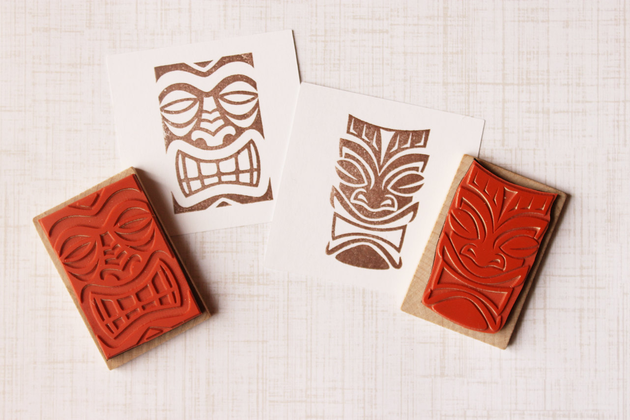 Wedding diy ideas tribal stamps for Wedding dress rubber stamp