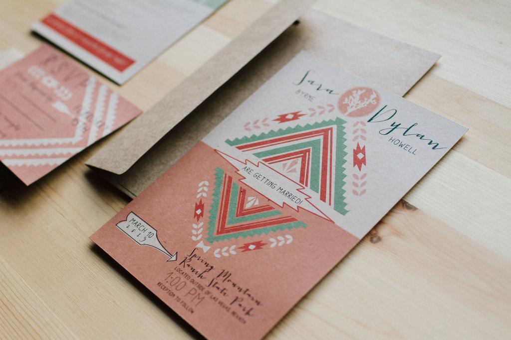 Southwestern-wedding-invitations-coral-aqua-tan.full
