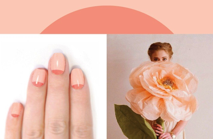 Pastel-wedding-nails-peach-two-tone.full