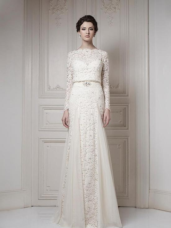Ersa Atelier Wedding Dress 2013 Bridal 14
