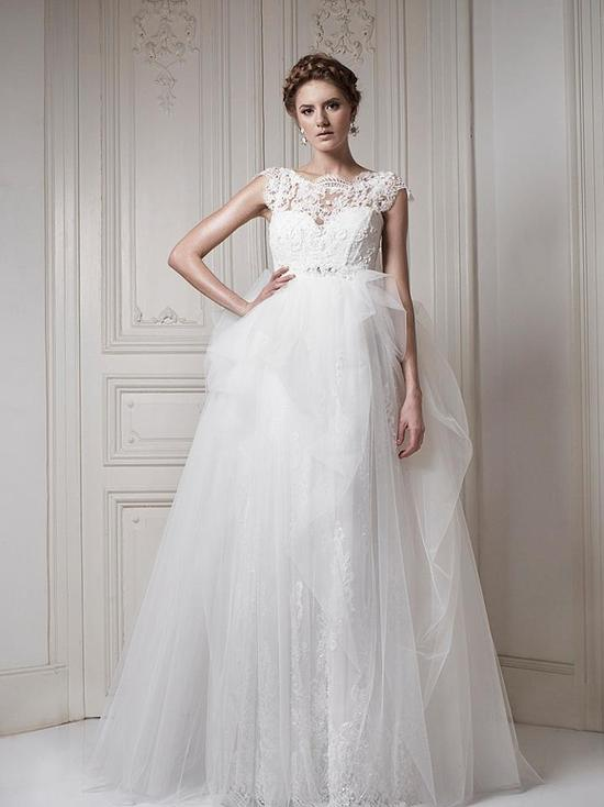 Ersa Atelier Wedding Dress 2013 Bridal 13