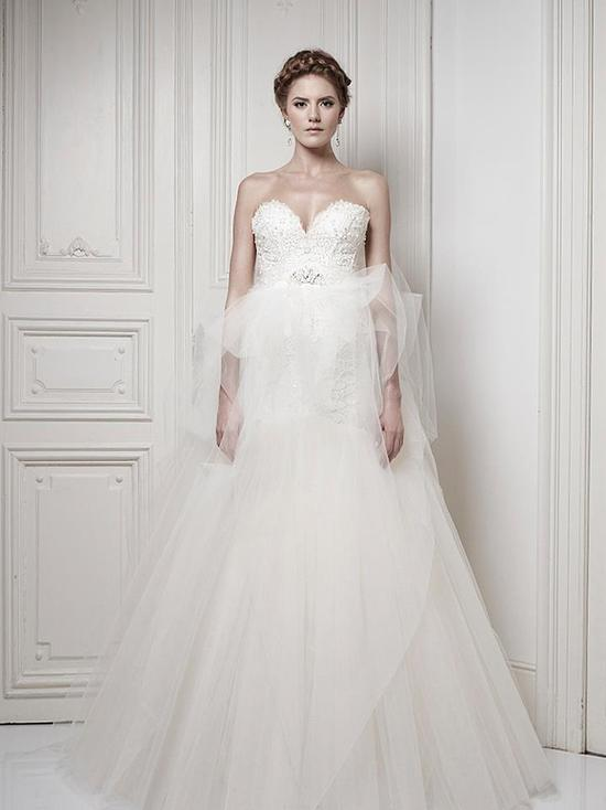 Ersa Atelier Wedding Dress 2013 Bridal 11