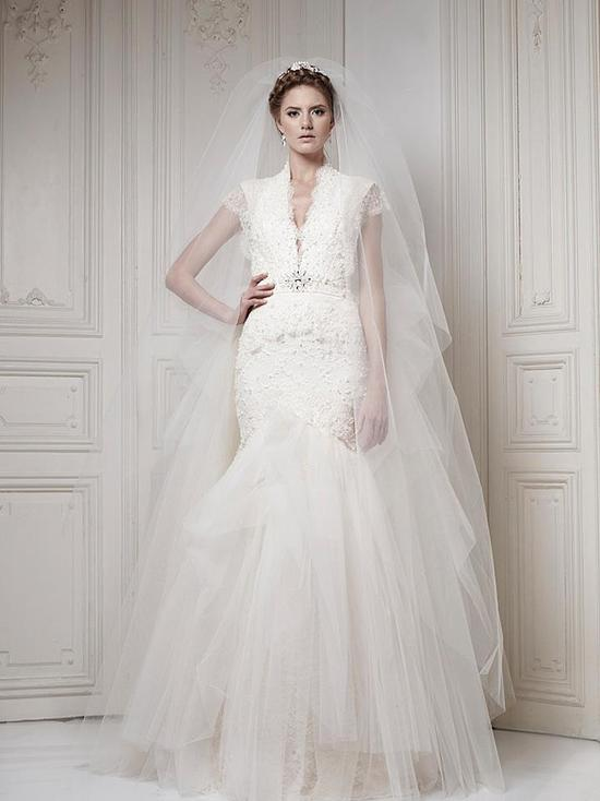 Ersa Atelier Wedding Dress 2013 Bridal 7