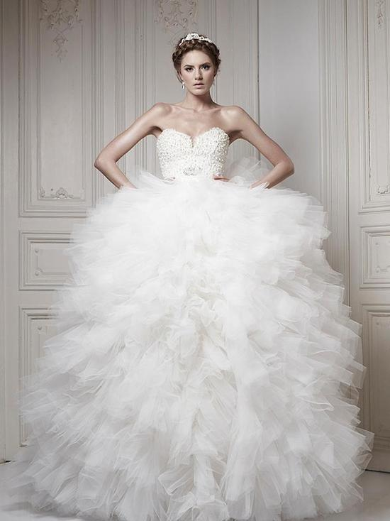 Ersa Atelier Wedding Dress 2013 Bridal 6