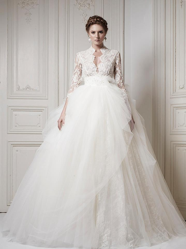Ersa Atelier Wedding Dress 2013 Bridal 4